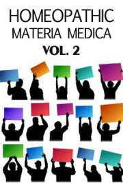Homeopathic Materia Medica vol. 2