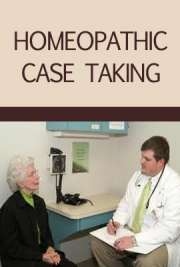 Homeopathic Case Taking