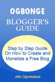 "The Ogbonge ""Blogger's Guide"""