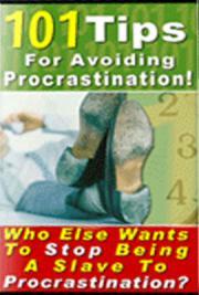 101 Tips in Avoiding Procastination