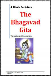 The Bhagavad Gita - A Translation and Commentary