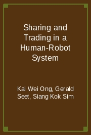 Sharing and Trading in a Human-Robot System