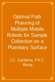 Optimal Path Planning of Multiple Mobile Robots for Sample Collection on a Planetary Surface