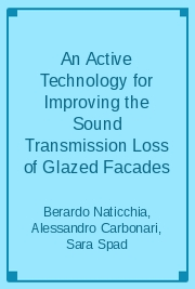 An Active Technology for Improving the Sound Transmission Loss of Glazed Facades