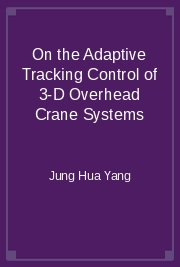 On the Adaptive Tracking Control of 3-D Overhead Crane Systems