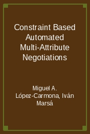 Constraint Based Automated Multi-Attribute Negotiations