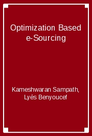 Optimization Based e-Sourcing