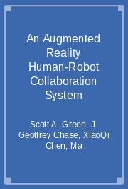 An Augmented Reality Human-Robot Collaboration System
