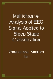 Multichannel Analysis of EEG Signal Applied to Sleep Stage Classification