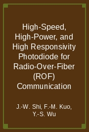 High-Speed, High-Power, and High Responsivity Photodiode for Radio-Over-Fiber (ROF) Communication