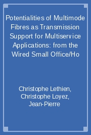 Potentialities of Multimode Fibres as Transmission Support for Multiservice Applications: From the Wired Small Office/Ho
