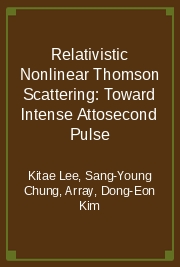 Relativistic Nonlinear Thomson Scattering: Toward Intense Attosecond Pulse
