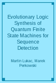 Evolutionary Logic Synthesis of Quantum Finite State Machines for Sequence Detection