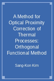 A Method for Optical Proximity Correction of Thermal Processes: Orthogonal Functional Method