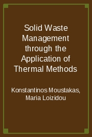 Solid Waste Management through the Application of Thermal Methods