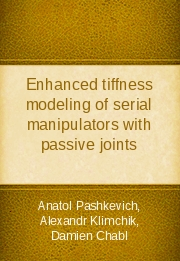 Enhanced tiffness modeling of serial manipulators with passive joints