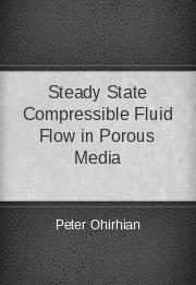 Steady State Compressible Fluid Flow in Porous Media