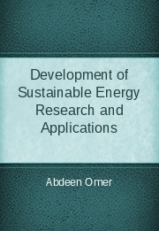 Development of Sustainable Energy Research and Applications