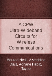A CPW Ultra-Wideband Circuits for Wireless Communications