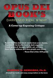 Opus Dei Book's Darkened Rizal & Why
