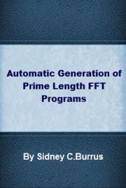 Automatic Generation of Prime Length FFT Programs