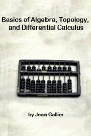 Basics of Algebra, Topology, and Differential Calculus