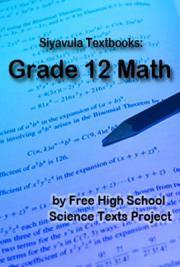 Siyavula Textbooks: Grade 12 Math
