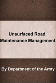 Unsurfaced  Road Maintenance Management