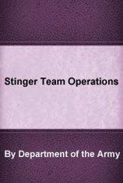 Stinger Team Operations