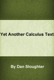 Yet Another Calculus Text