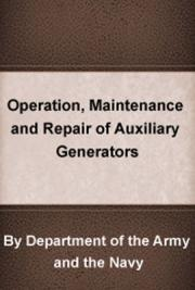 Operation, Maintenance and Repair of Auxiliary Generators