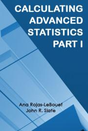 Calculating Advanced Statistics: Part I