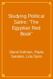 "Studying Political Satire: ""The Egyptian Red Book"""