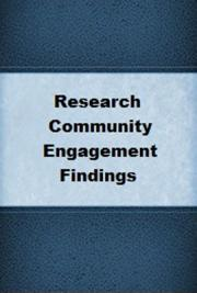 e-Research Community Engagement Findings