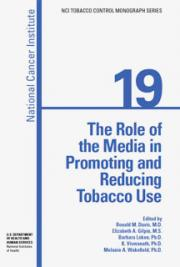 The Role of the Media in Promoting and Reducing Tobacco Use. NCI Tobacco Control Monograph 19