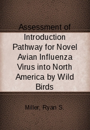 Assessment of Introduction Pathway for Novel Avian Influenza Virus into North America by Wild Birds