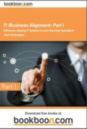 IT-Business Alignment: Part I cover
