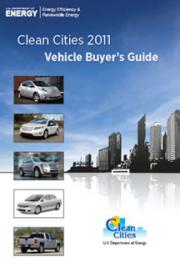 Clean Cities 2011 Vehicle Buyer's Guide