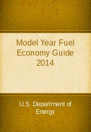 Model Year Fuel Economy Guide 2014