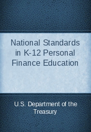 National Standards in K-12 Personal Finance Education
