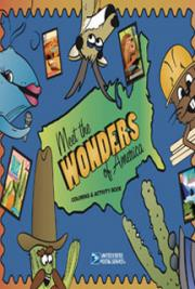 Wonders of America Coloring and Activity Book