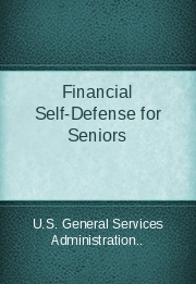 Financial Self-Defense for Seniors