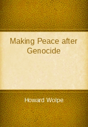 Making Peace After Genocide