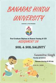 Soil and soil salinity