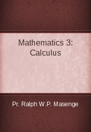 Mathematics 3: Calculus