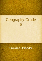Geography Grade 6