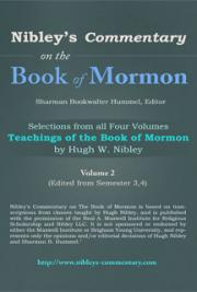 Selections from All Four Volumes Teachings of the Book of Mormon