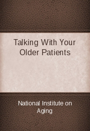 Talking With Your Older Patients