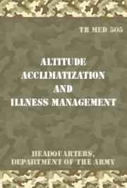 Altitude Acclimatization and Illness Management