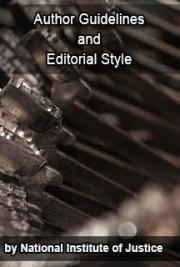 NIJ Author Guidelines and Editorial Style